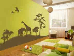 toddler girl room:  ideas to design a jungle themed kids room kidsomania