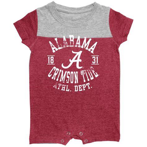 alabama crimson tide baby clothes infant of alabama crimson tide romper