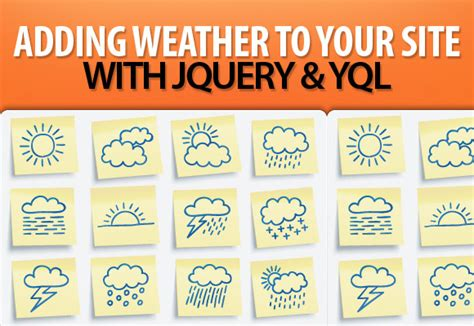 yql tutorial javascript adding weather to your site with jquery and yql