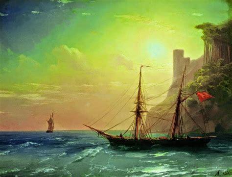 imagenes de barcos en tempestades cuadros pinturas oleos febrero 2015