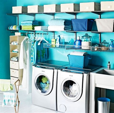 30 Coolest Laundry Room Design Ideas For Today S Modern Homes Blue Laundry