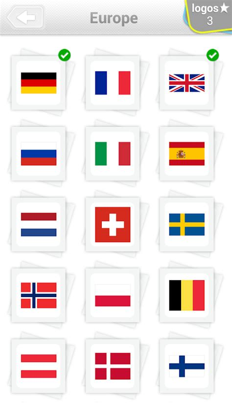 flags of the world quiz easy flags quiz aplica 231 245 es android no google play