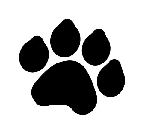 Dog Paw Print Silhouette At Getdrawings Com Free For Personal Use Dog Paw Print Silhouette Of Paw Print Silhouette