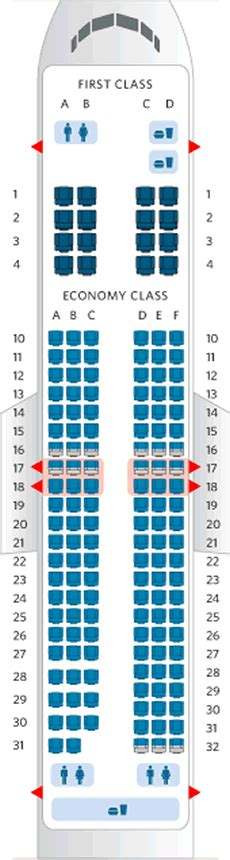 seat plan boeing 737 800 american 737 800 seating chart images search