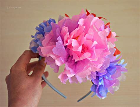 cerchietti per capelli con fiori come fare un cerchietto per capelli con fiori di carta