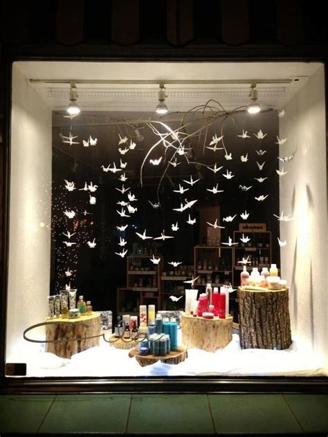beautiful display for products window displays