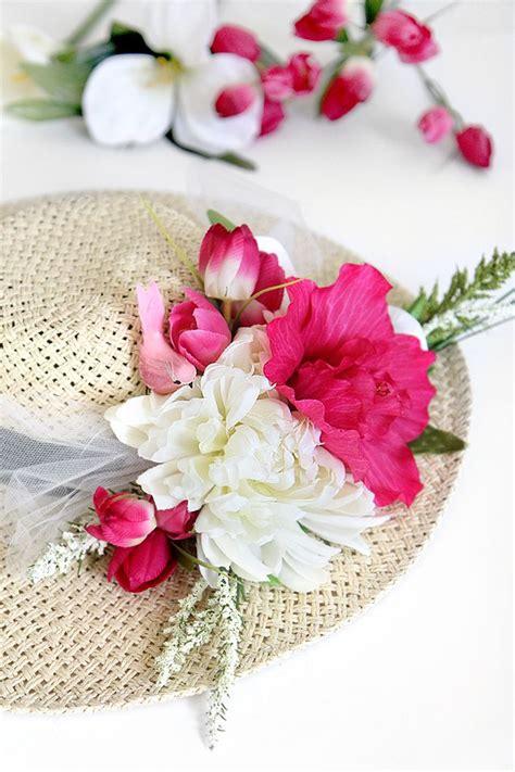 Flower Hat my diy flower derby hat great for a festival diy feature