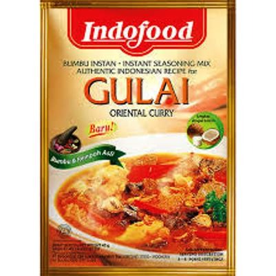Indofood Bumbu Instan Gulai 45g hawker style cooking my cooking without borders