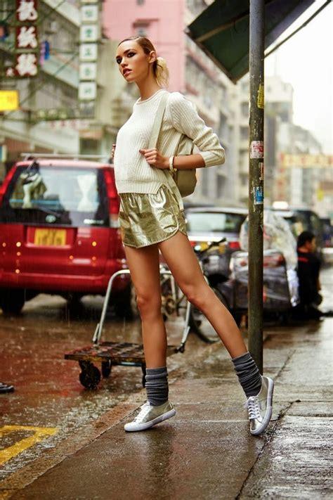 revolve clothing winter 2013 lookbook photography chris shintani model cora keegan sporty