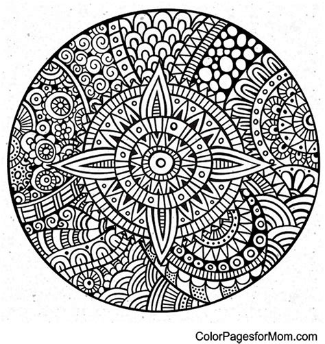 mandala coloring pages advanced level advanced mandala coloring pages bestofcoloring