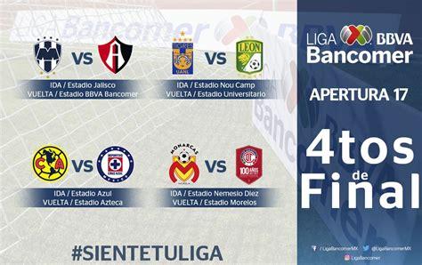 cuartos de final listos los cuartos de final de la liga mx el heraldo de