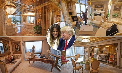inside trumps penthouse see the inside of donald trump s 100m golden penthouse