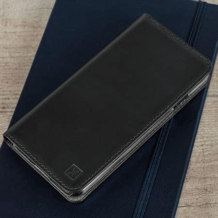 olixar genuine leather lg  executive wallet case black