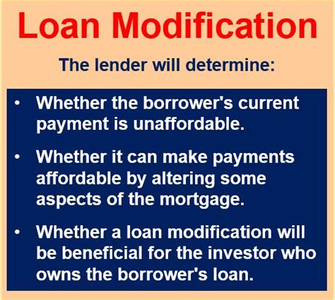 sle subordination agreement template modification mortgage what is a loan modification market