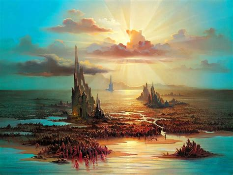 imagenes surrealistas de paisajes im 225 genes arte pinturas surrealismo en pinturas paisajes
