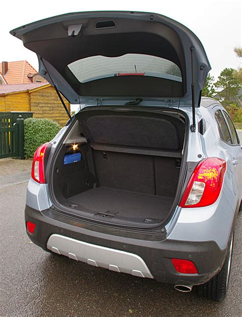 vauxhall mokka trunk opel mokka trunk 28 images opel mokka trunk space