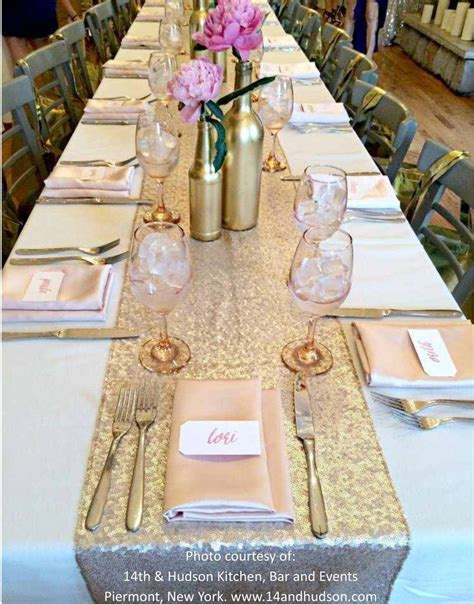 7 Gorgeous Table Runners by Gorgeous Sequin Table Runner Knot And Nest Designs