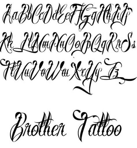 tattoo fonts for men generator best free fonts designs ideas for and
