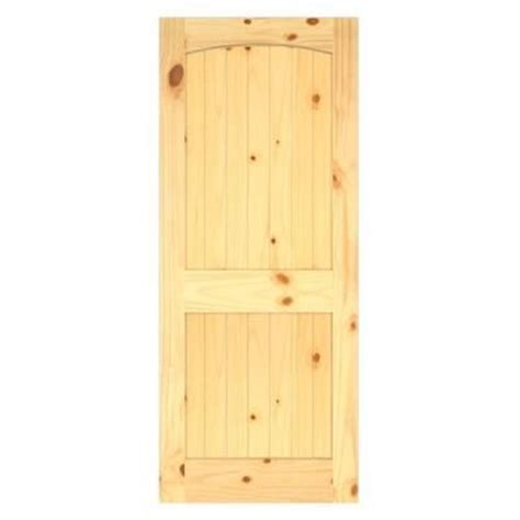 home depot solid core interior door jeld wen woodgrain 2 panel archtop v groove solid core finished knotty pine interior door slab