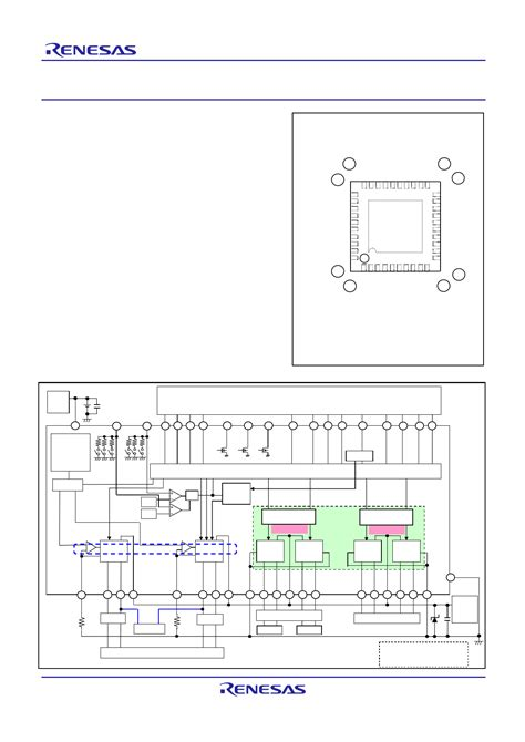 r2a30440np datasheet pdf pinout 6 channel motor driver ic