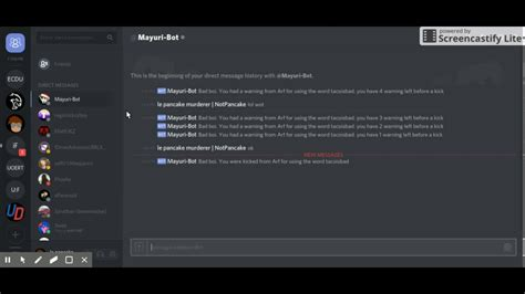 discord mee6 triggering a discord bot youtube