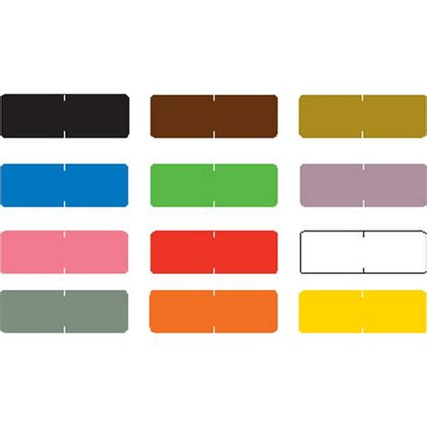 compatible colors barkley compatible solid color labels laminated stock 1