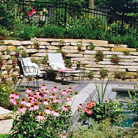 a life designing how to design a sloping garden creating a garden on a slope ideas and optimal solutions