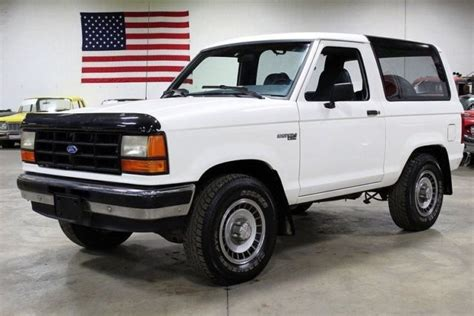 how cars run 1990 ford bronco regenerative braking 1990 ford bronco ii 36307 miles white suv 2 9l efi v6 automatic classic ford bronco 1990 for sale