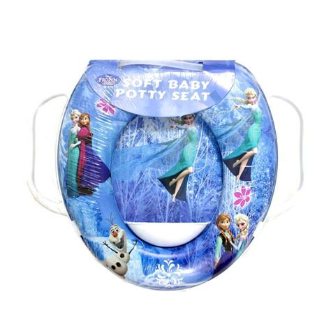 Dudukan Toilet Soft Potty Seat With Handle Ring Closet 1 jual soft baby potty seat handle motif frozen toilet