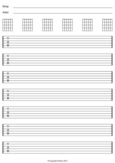 Printables Free Guitar Tab Google Zoeken Guitar Pinterest Guitars Google And Free Guitar Tab Template Excel