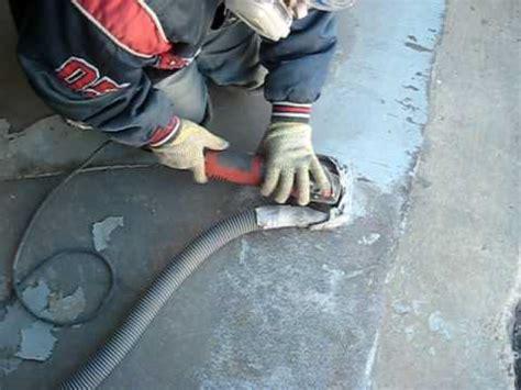 Concrete Grinding by Hand: Liquidfloors.com   YouTube