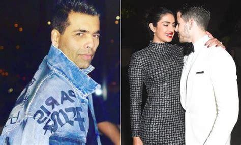 priyanka chopra fiance age gap karan johar speaks up on trolls targeting priyanka chopra
