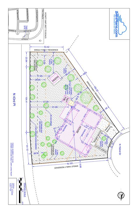 site plan drawings site plans in maricopa county az how to get your plot