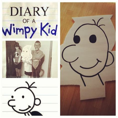 diary of a wimpy kid crafts 33 best book character dress up images on
