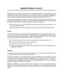 company computer use policy template website privacy policy template sle form biztree