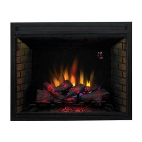 spectrafire 39 in traditional built in electric fireplace