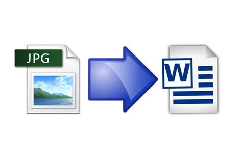 Convert A Jpeg File To Word Document