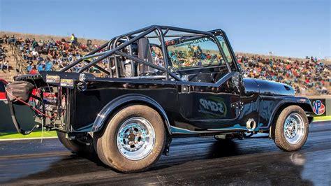 turbo jeep drag jeep turbo v8 1320video
