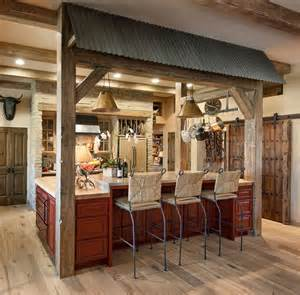 This gorgeous southwestern kitchen was a farmhouse remodel done by