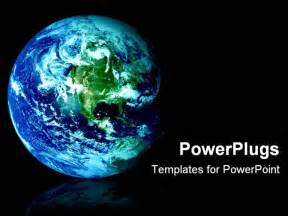 the earth powerpoint template background of earth world