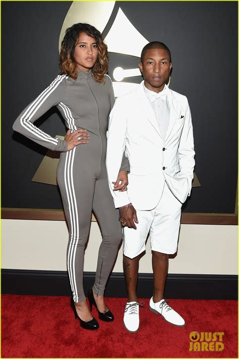 pharrell williams wife 2015 grammys pharrell williams and wife new style for