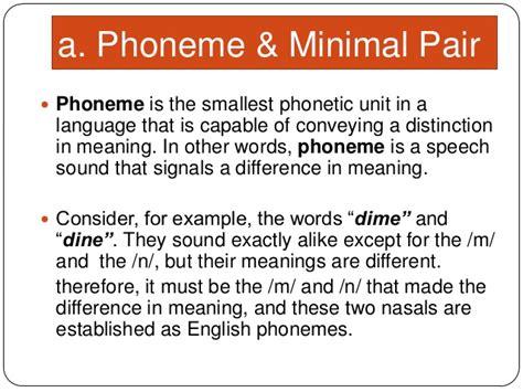 what does phonology mean 5 phoneme suprasegmental phoneme