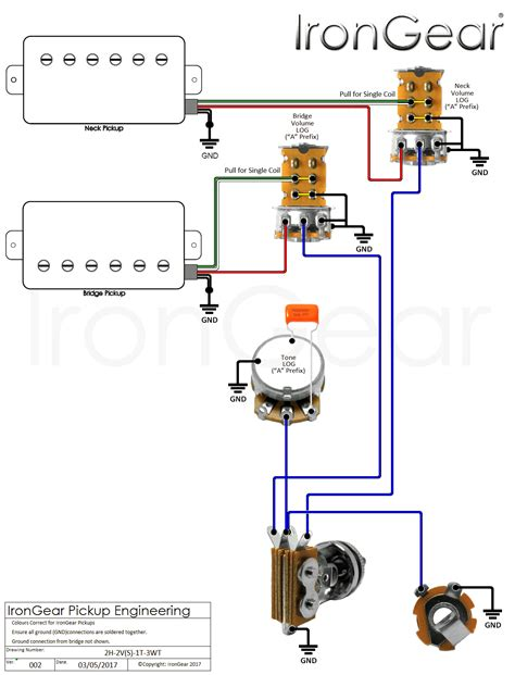 wiring diagram for dimarzio humbuckers peavey humbucker