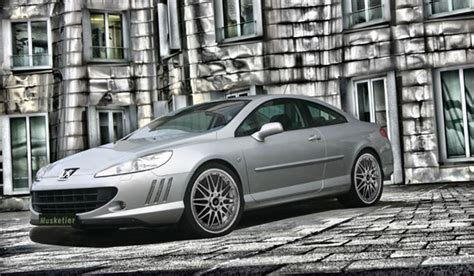 peugeot 407 coupe tuning peugeot 407 coup 233 by musketier