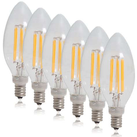 led candelabra light bulbs dimmable clear filament led candelabra bulbs edison