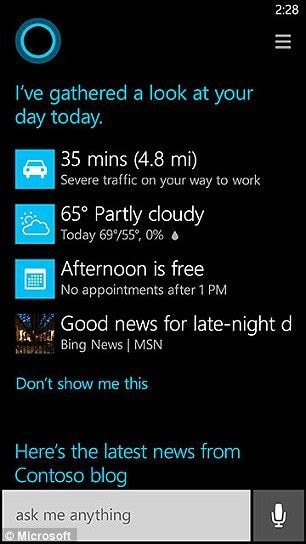 Google s mobile app which doesn t have a name like siri or cortana