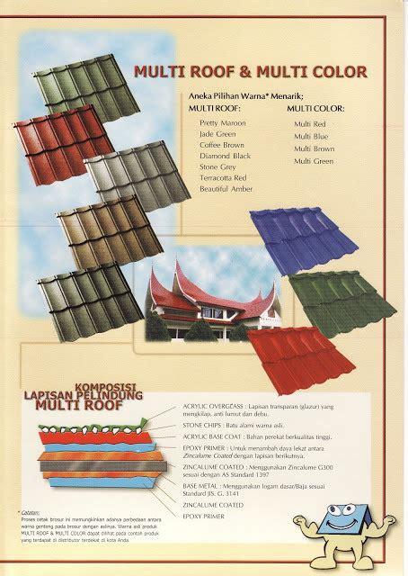 Multiroof Permata genteng metal multiroof multicolor kencana atap transparan atap translucent atap