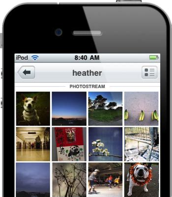 flickr for iphone now supports retina display, sharing to