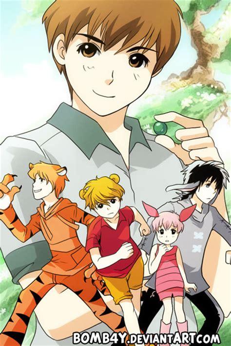 Tas Anime Mini Gadget Tokyo Ghoul 1 winnie the pooh gijinka 01 by bomb4y on deviantart