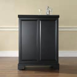 Expandable Bar Cabinet Crosley Furniture Kf40001bbk Lafayette Expandable Bar Cabinet Atg Stores